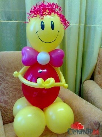Фигуры из шаров фото своими руками
