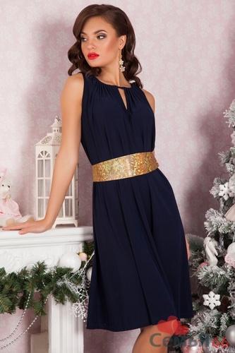 Фото платье из трикотажа масло