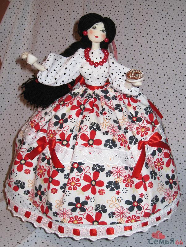 Чехол кукла своими руками 936